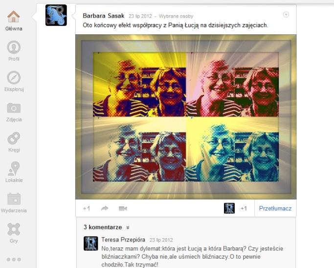 Przeglądasz zdjęcia z artykułu: Działamy... nauka, spotkania, zabawy... czerwiec 2012