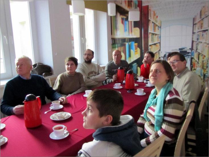 Przeglądasz zdjęcia z artykułu: DKK – KLUB GŁUCHEGO CZYTELNIKA – PAWEŁ ŚLIWKO – 28.01.2015