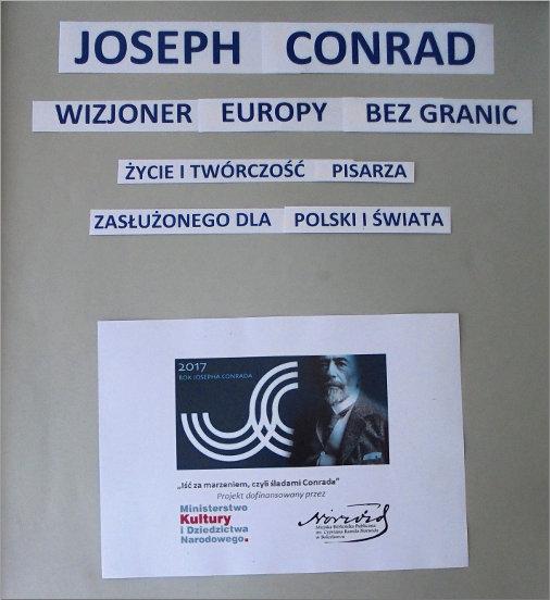 Przeglądasz zdjęcia z artykułu: WIZJONER EUROPY BEZ GRANIC – JOSEPH CONRAD –  FILIA NR 1, DOM DZIENNEGO POBYTU – 06.06.2017