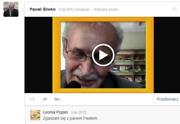 Przeglądasz zdjęcia z artykułu: Kamera internetowa. Nowoczesne formy komunikacji - Lipiec 2012