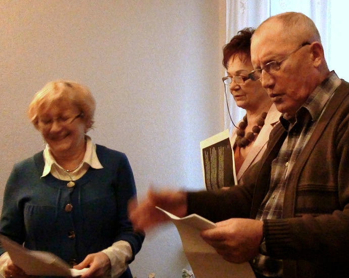 Przeglądasz zdjęcia z artykułu: Przygotowania do noweli - Listopad 2012