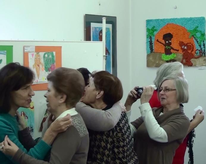 Przeglądasz zdjęcia z artykułu: Opłatek w Akademii Seniora – 11.12.2013