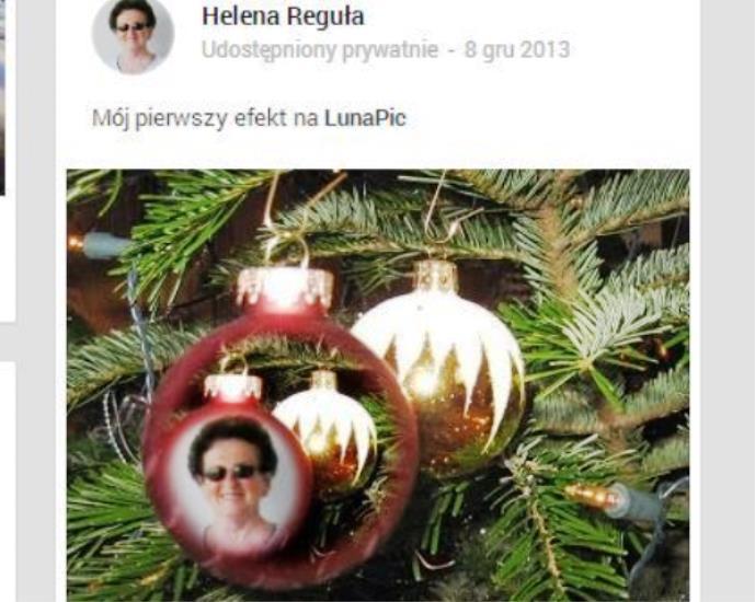 Przeglądasz zdjęcia z artykułu: Życzenia świąteczne na strumieniu - 6. 12. 2013/24. 12. 2013