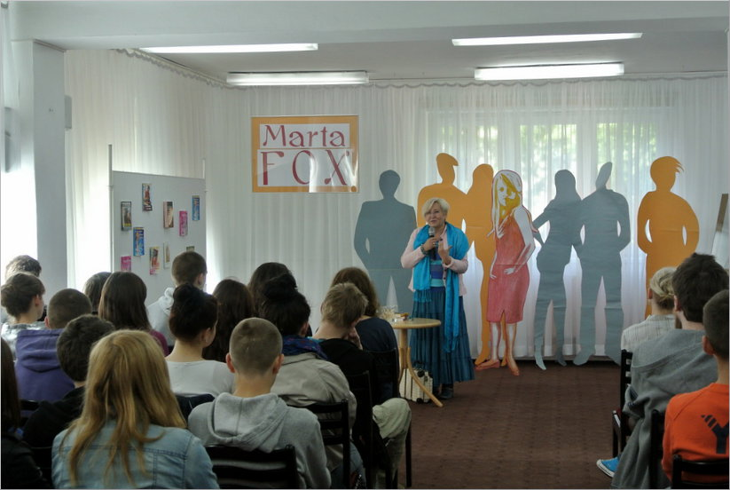 Przeglądasz zdjęcia z artykułu: Marta Fox – spotkanie autorskie – 05.06.2013