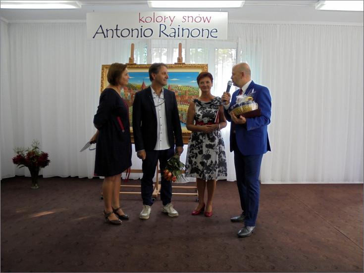"""Przeglądasz zdjęcia z artykułu: ANTONIO RAINONE: """"KOLORY SNÓW"""" – WYSTAWA MALARSTWA – SIERPIEŃ/WRZESIEŃ 2017"""