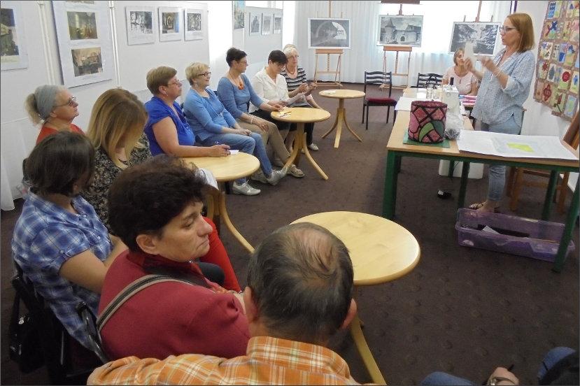 Przeglądasz zdjęcia z artykułu: JOLANTA FILIPOWICZ – WARSZTATY PATCHWORKOWE – 18.05.2017 R.