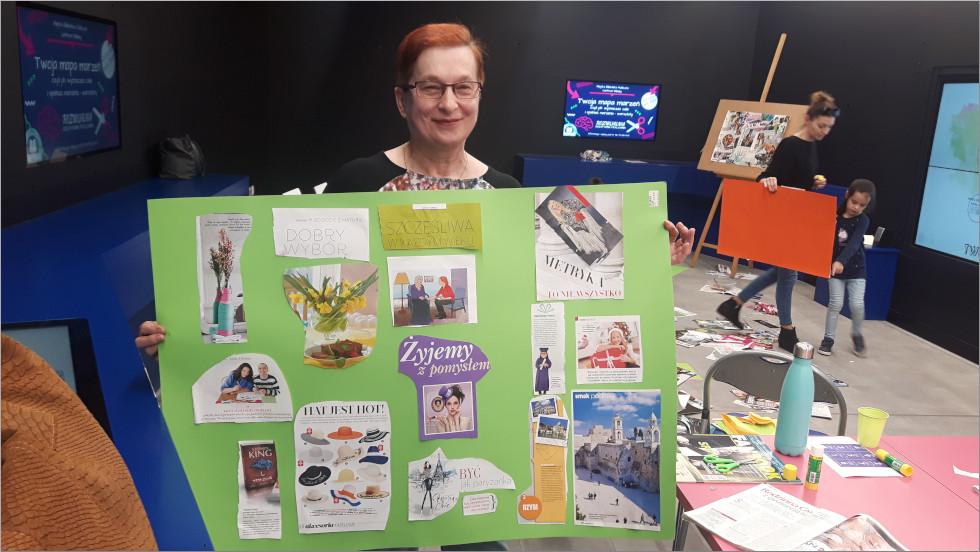 Przeglądasz zdjęcia z artykułu: Rozwijalnia Kreatywna Pracownia - 'Mapy marzeń - warsztaty'  - CENTRUM WIEDZY - 22.03.2019